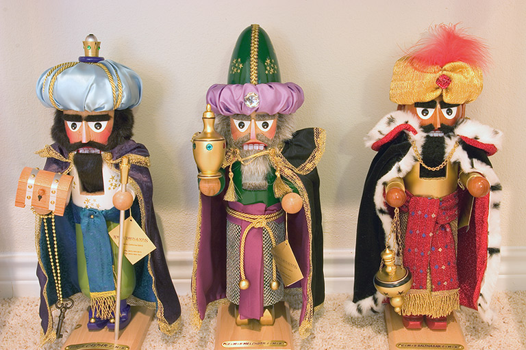 Three Wise Men Nutcrackers