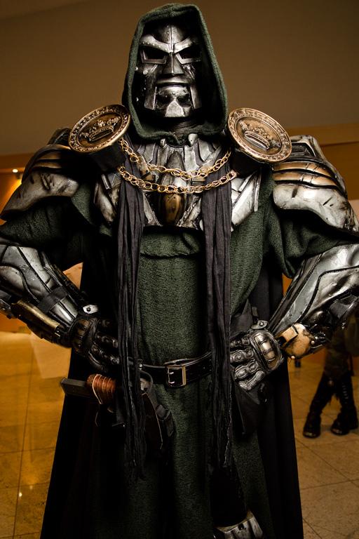 Doctor Doom Dragoncon 2011 Cosplay