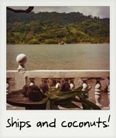 Ships and coconuts!