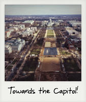 Towards the Capitol!