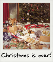 Christmas is over!