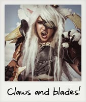 Claws and blades!!