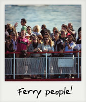 Ferry people!