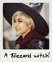 A Blizzard witch!