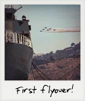 The first flyover!
