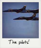The pilots!