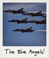 The Blue Angels!