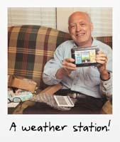 A weather station!