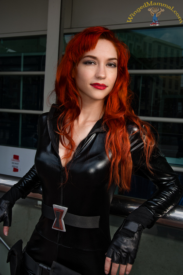 Comic Con 2014 Black Widow Cosplay