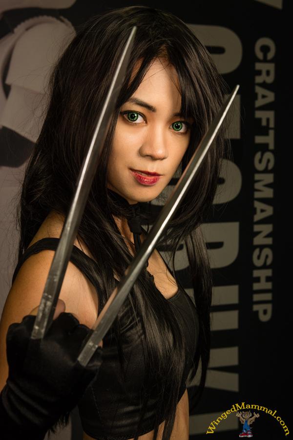 Comic-Con 2014 X-23 cosplay! X 23 Costume