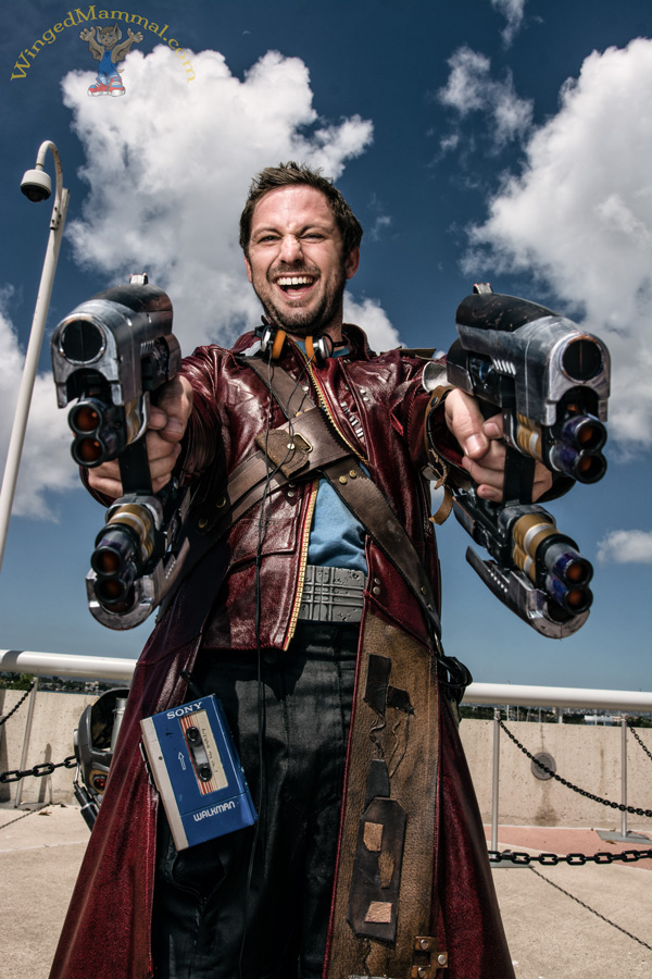 Star-Lord cosplay!