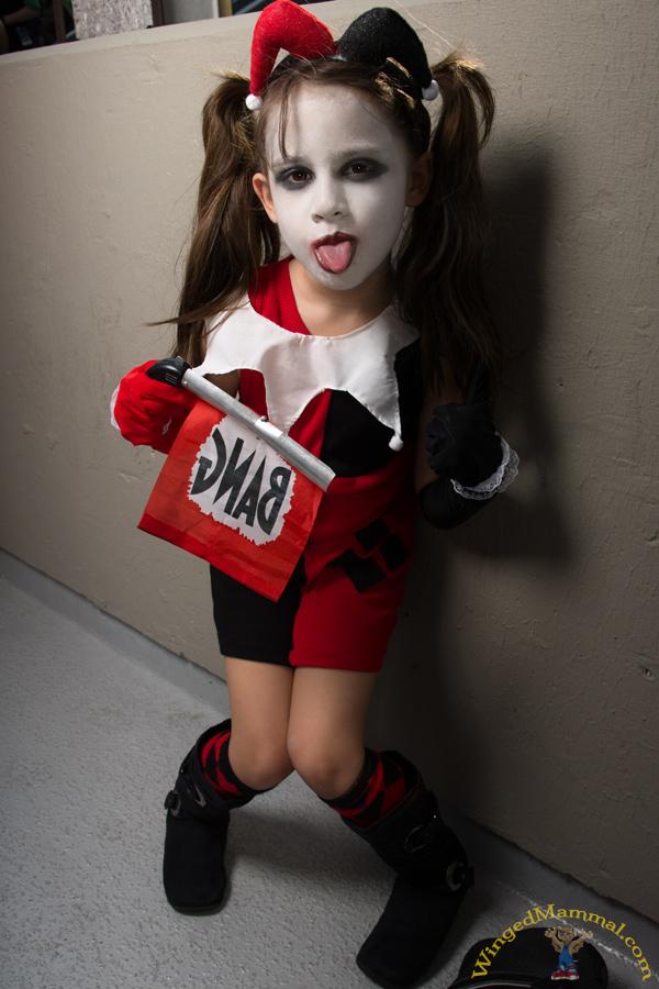 harley quinn little girl cosplay photo taken at dragon con manual focus camera android manual focus camera